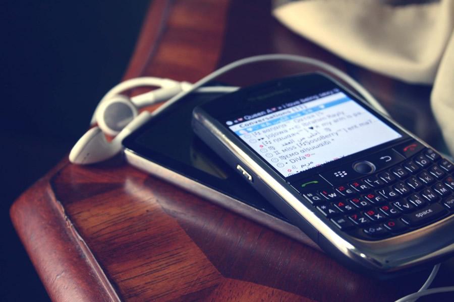 Blackberry problemas